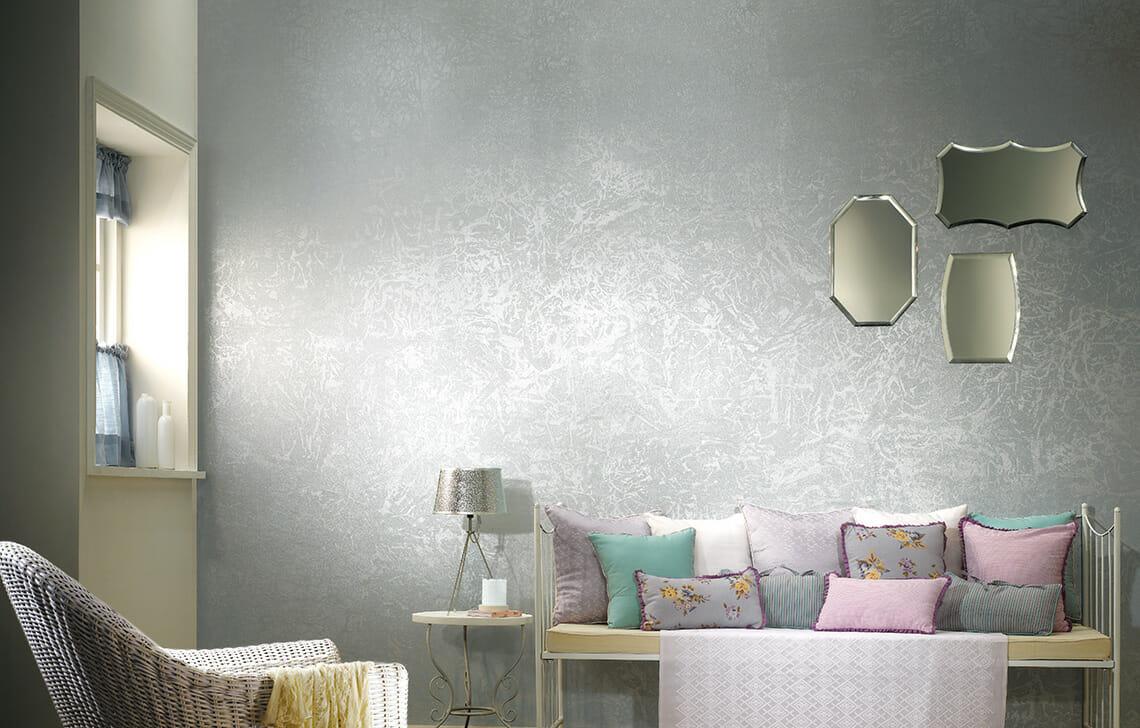 Metallics Dapple Wall Texture Design